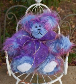 Purple Bubblegum Bear